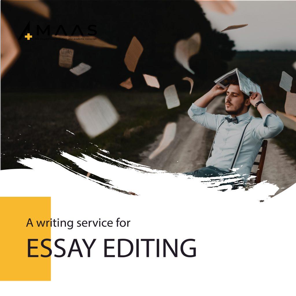 Tại sao cần Edit essay