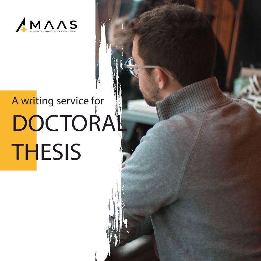 Tầm quan trọng của viết luận văn tiến sĩ - doctoral thesis