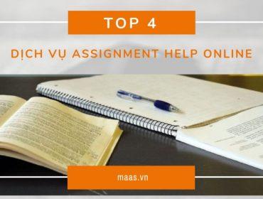 Top 4 dịch vụ assignment help online tốt nhất