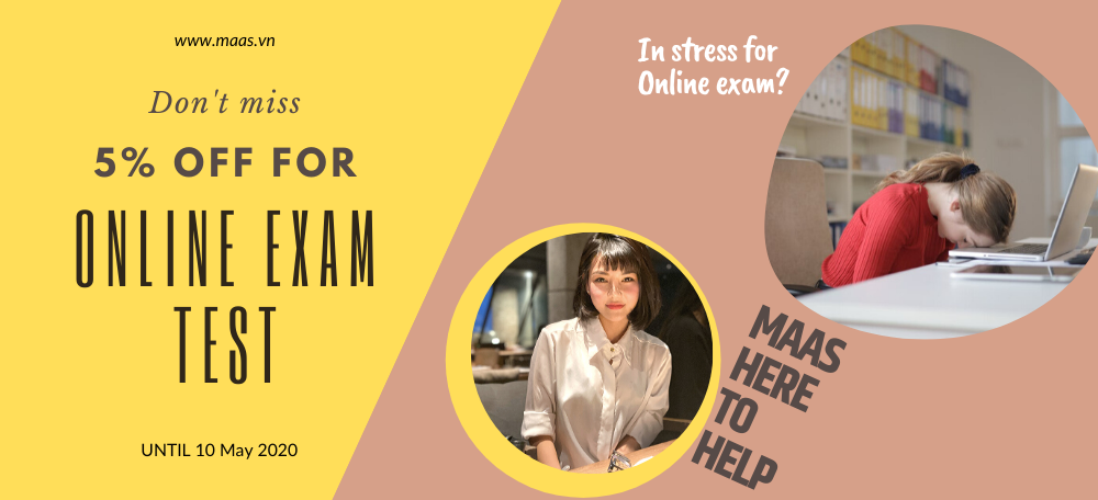 student stress for doing online exam help and online exam quiz