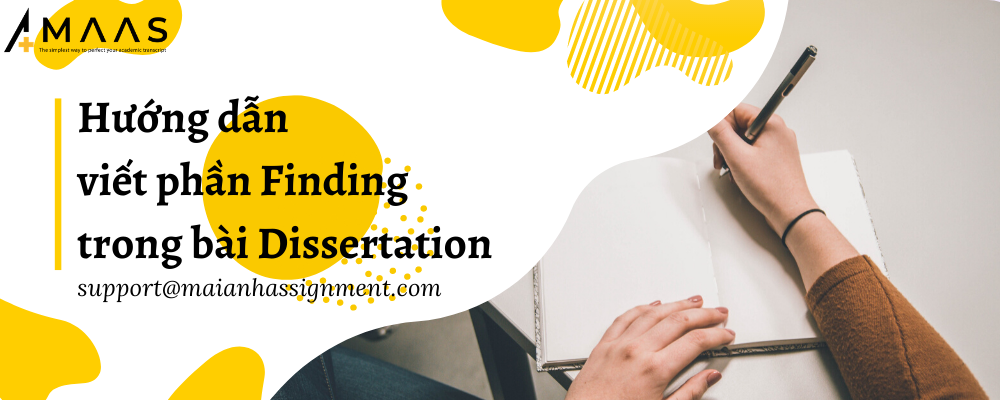 Hướng dẫn viết phần Finding trong bài Dissertation