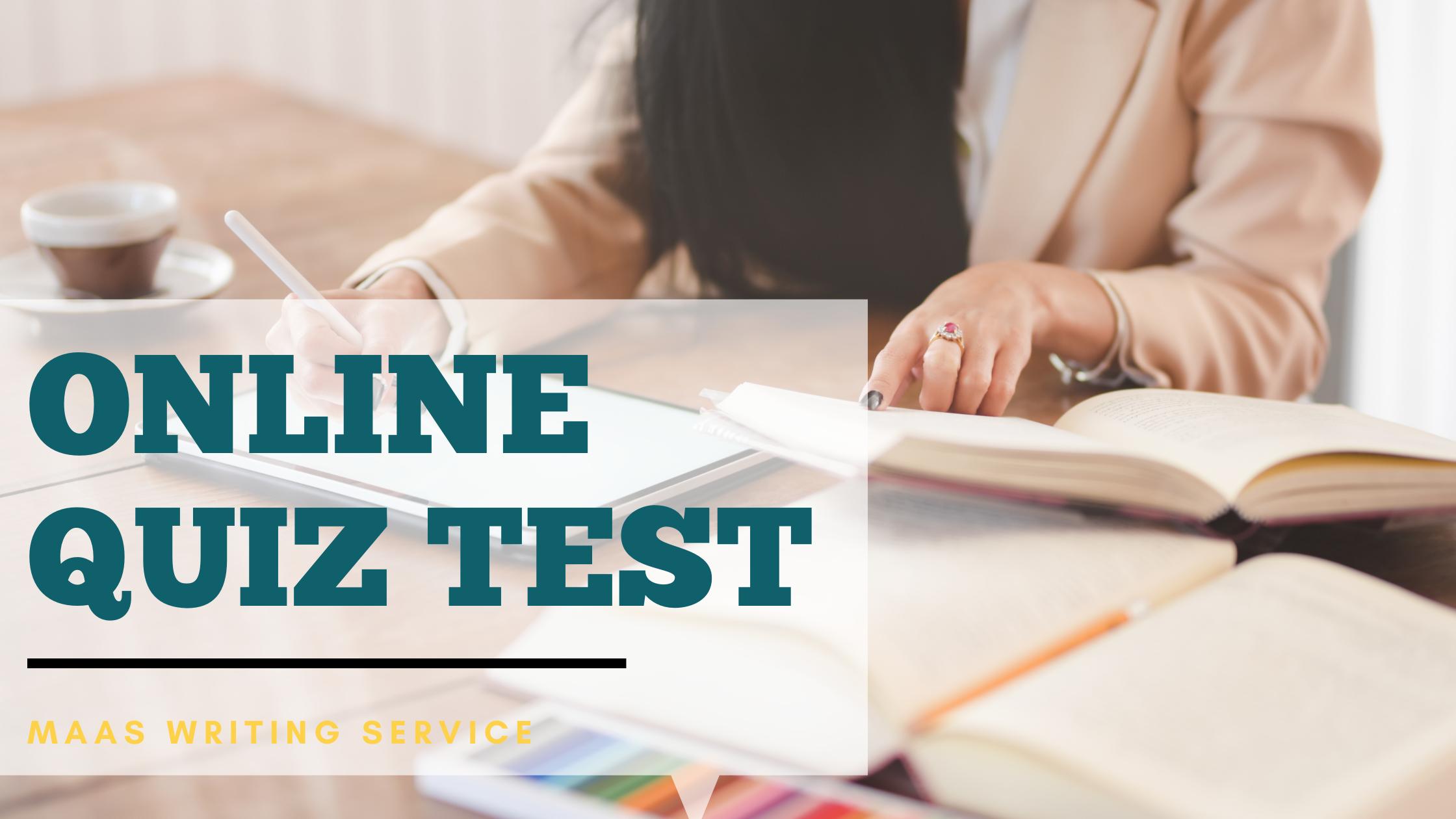 Online Quiz Test