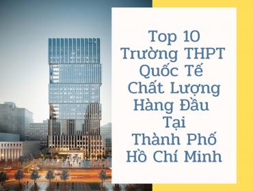 Trường THPT Quốc Tế tại Thành Phố Hồ Chí Minh