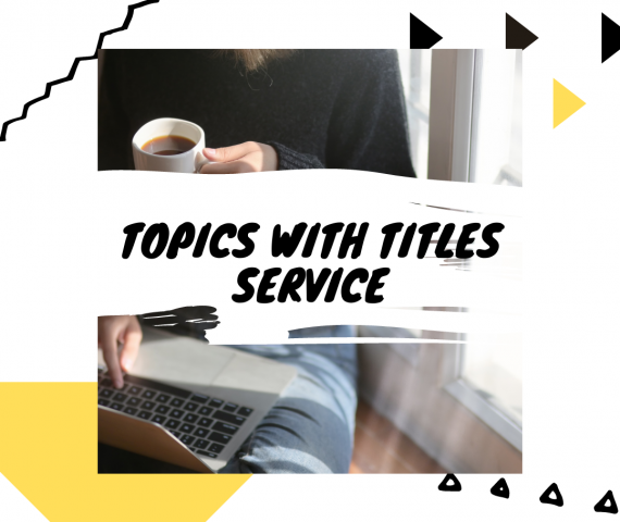 Topics with titles service