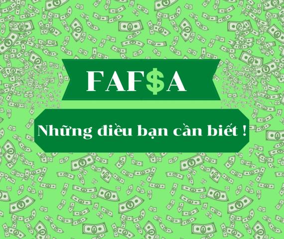 Những điều bạn cần biết về FAFSA
