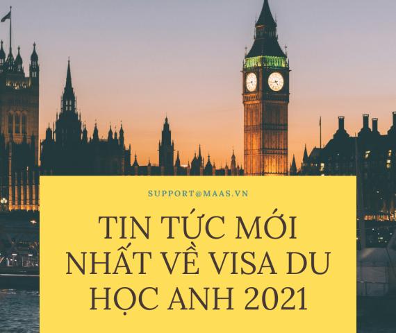 tin tức mới về visa du học Anh 2021