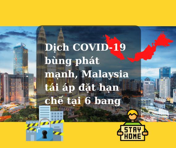 bùng phát dịch covid-19 malaysia