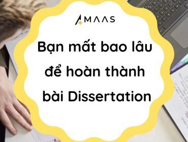 hoàn thành bài Dissertation