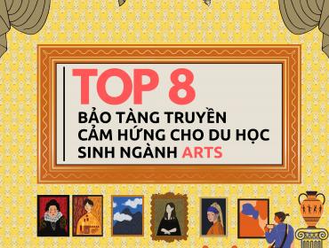 Top 8 Bảo tàng truyền cảm hứng cho du học sinh ngành Arts tại châu Âu