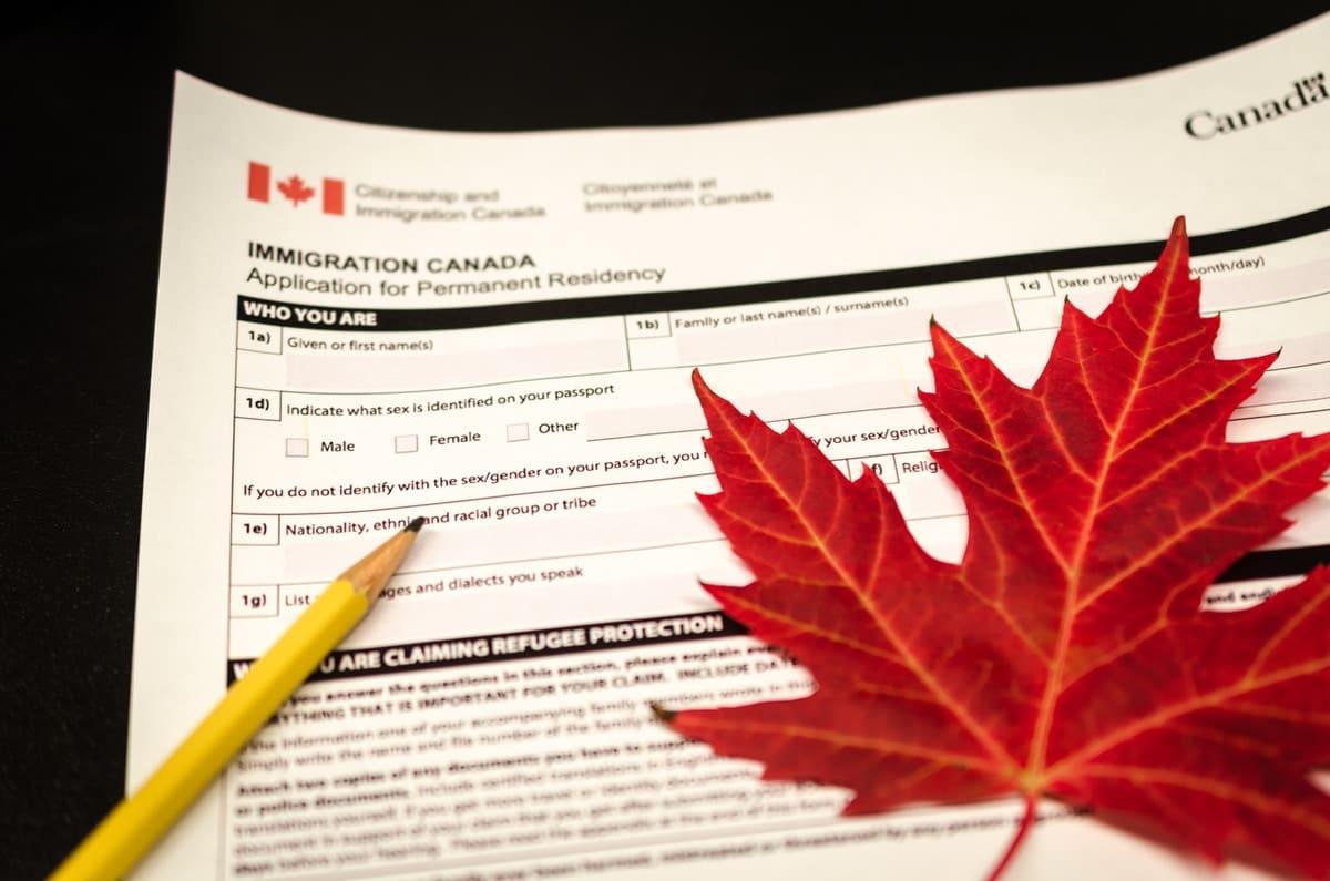 cấp quyền thường trú Canada