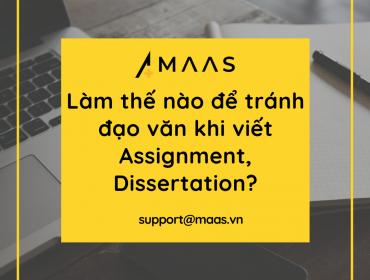 Làm thế nào để tránh đạo văn khi viết Assignment, Dissertation?