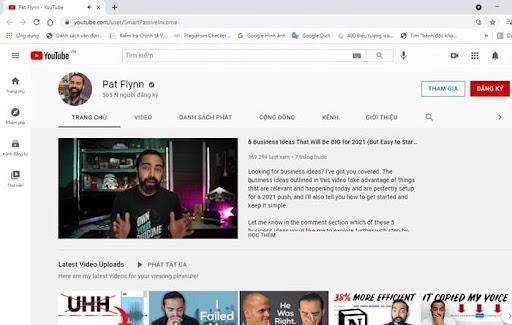 Kênh Youtube hay về giáo dục